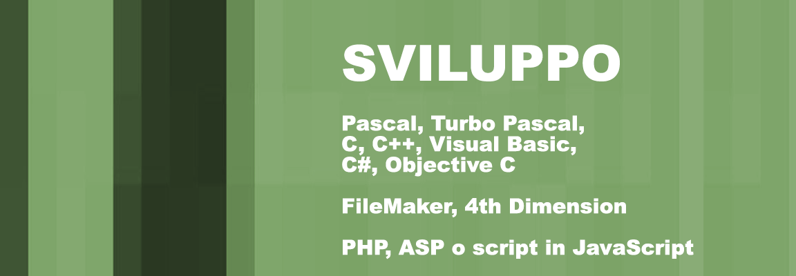 Slider Sviluppo Software